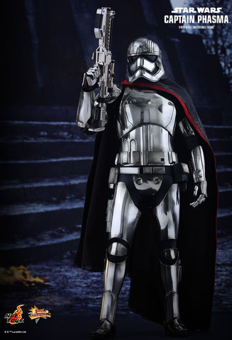 Hot Toys Star Wars: The Force Awakens 1/6th Scale Collectible Figure - Captain Phasma - Simply Toys