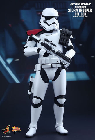 Hot Toys Star Wars: The Force Awakens 1/6 Scale Collectible Figure - First Order Stormtrooper Officer - Simply Toys