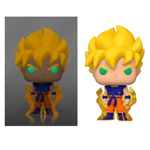 Funko Pop! Animation - Dragon Ball S8 #860 - Super Saiyan Goku (Glow In The Dark) (Exclusive)