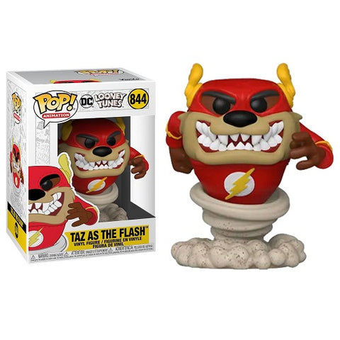 Funko Pop! Animation - Looney Tunes #844 - Taz as The Flash (Exclusive)