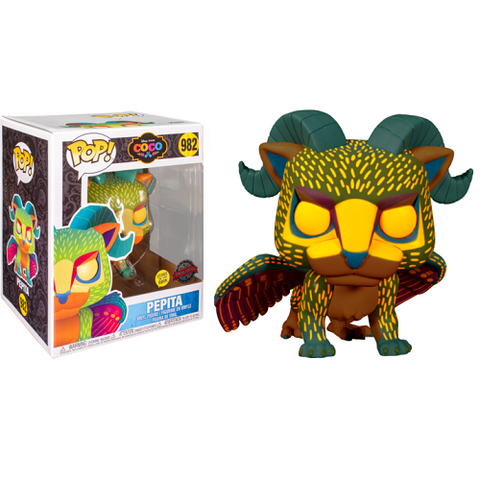 Funko Pop! Disney - Coco #982 - Pepita (6 Inch) (Neon/Glow In The Dark) (Exclusive)