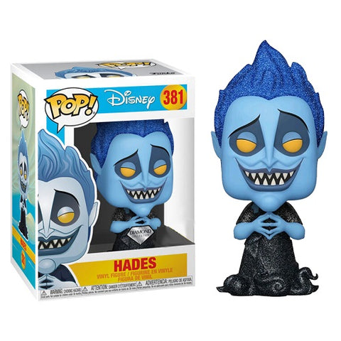 Funko Pop! Disney - Hercules #381 - Hades (Diamond Glitter) (Exclusive)