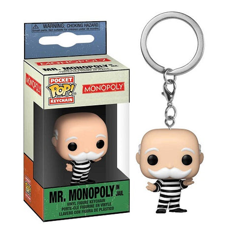 Funko Pop! Keychain - Monopoly - Criminal Uncle Pennybags