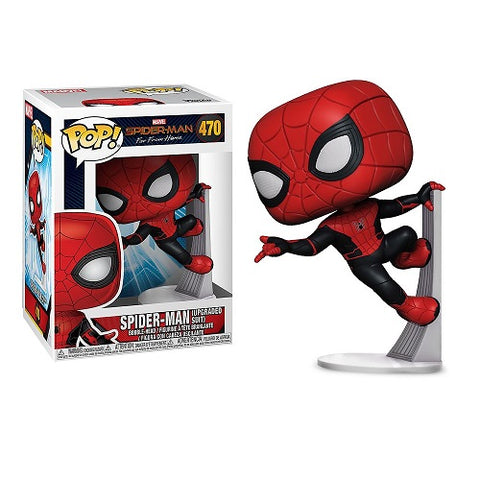 Funko Pop! Marvel - Spider-Man Far From Home #470 - Spider-Man (Upgraded)