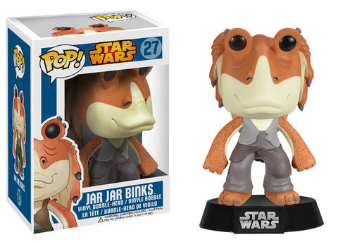 Funko Pop! Movies - Star Wars #27 - Jar Jar Binks *VAULTED* - Simply Toys