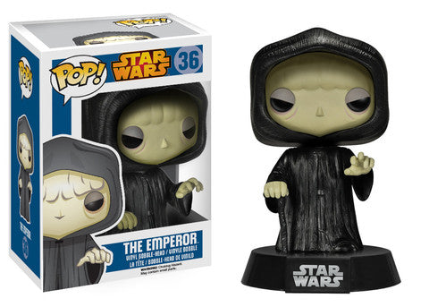 Funko Pop! Movies - Star Wars #36 - Emperor Palpatine *VAULTED* - Simply Toys