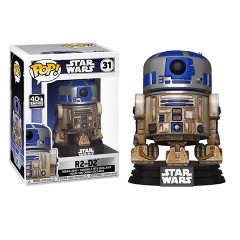 Funko Pop! Star Wars - Star Wars #31 - Dagobah R2-D2 (Exclusive)