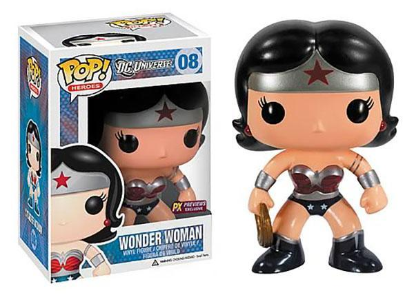 Funko Pop! Heroes - DC Universe #08 - New 52 Wonder Woman (PX Exclusive) - Simply Toys