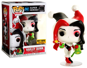 Funko Pop! Heroes - DC Super Heroes #299 - Holiday Harley Quinn with Wrapped Bomb (Exclusive) - Simply Toys