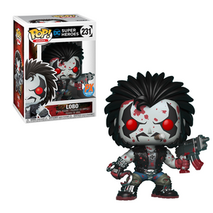 Funko Pop! DC - DC Super Heroes #231 - Lobo (Bloody) (Exclusive) - Simply Toys