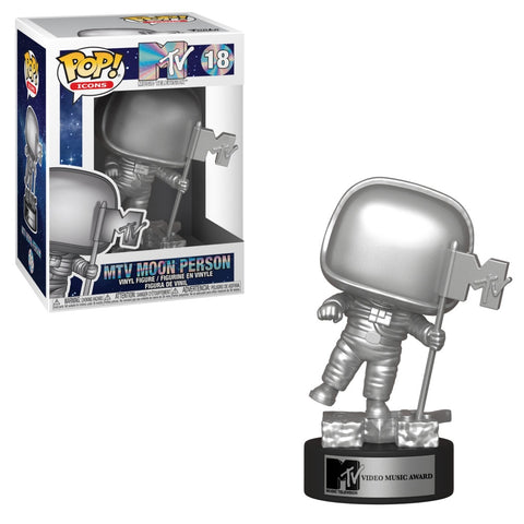 Funko Pop! Icons - MTV #18 - MTV Moon Person - Simply Toys