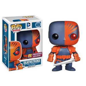 Funko Pop! Heroes - DC Super Heroes #49 - Deathstroke (PX Exclusive) - Simply Toys
