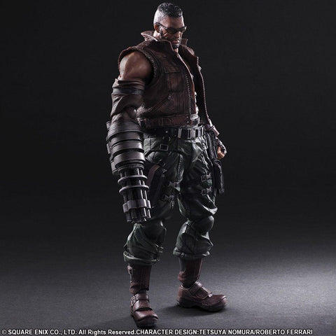 Square Enix Play Arts Kai - Final Fantasy VII Remake Action Figure - Barret Wallace - Simply Toys