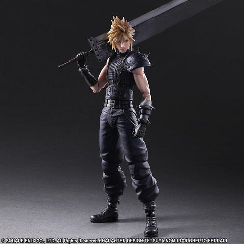 Square Enix Play Arts Kai - Final Fantasy VII Remake Action Figure - Cloud Strife (Limited Color Version) - Simply Toys