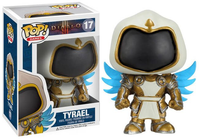 Funko Pop! Games - Diablo 3 #17 - Tyrael *VAULTED* - Simply Toys