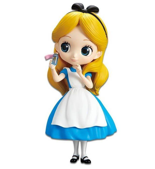 Banpresto Disney Q Posket - Alice Thinking Time (Regular Color Version) - Simply Toys