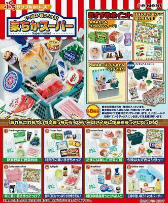 Re-Ment - Supermarket (Set of 8) - Simply Toys