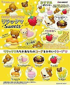 Re-Ment Rilakumma - Rilakkuma Cord Keeper (Set of 8) - Simply Toys
