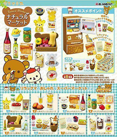 Re-Ment Rilakkuma - Rilakkuma Natural Market (Set of 8) - Simply Toys