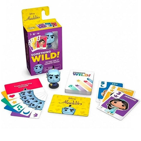 Funko Signature Games - Something Wild Card Game - Aladdin