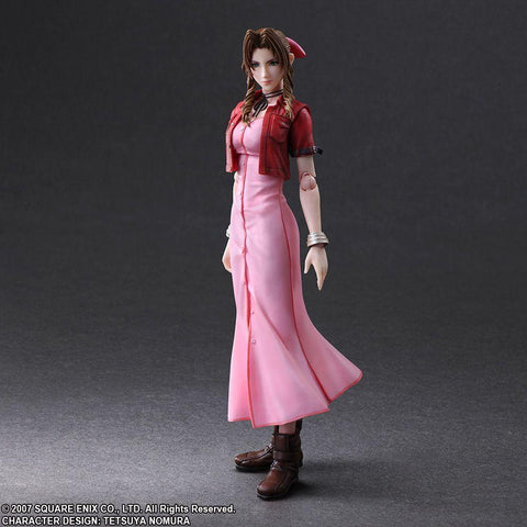 Square Enix Play Arts Kai - Final Fantasy VII: Crisis Core Action Figure - Aerith Gainsborough - Simply Toys