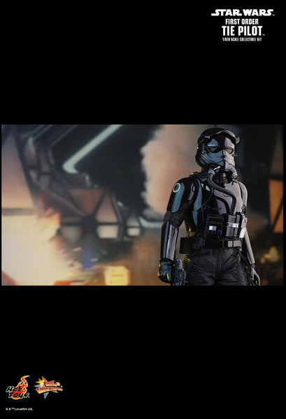 Hot Toys Star Wars: The Force Awakens 1/6 Scale Collectible Figure - First Order Tie Fighter Pilot - Simply Toys