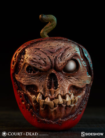 [PRE-ORDER] Sideshow Collectibles - Court of the Dead Prop Replica - Skull Apple (Rotten Version)