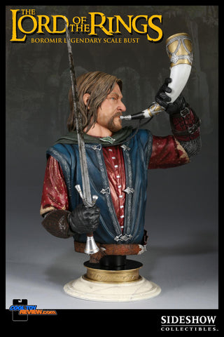 Sideshow Collectibles Lord Of The Ring Legendary Scale Bust  - Boromir - Simply Toys