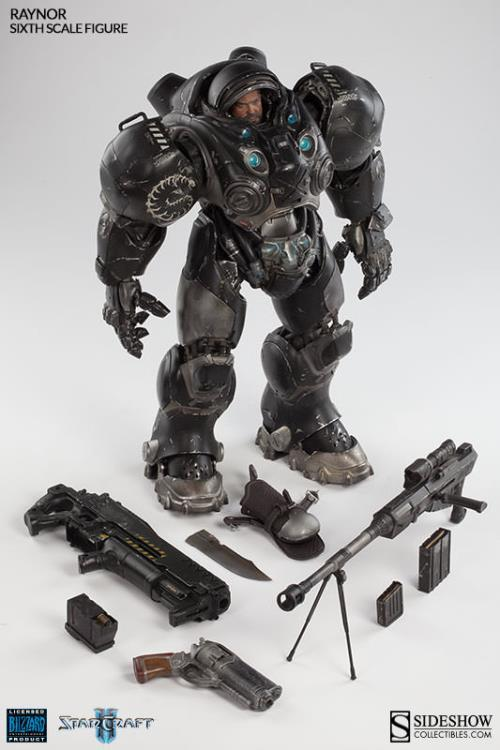 Sideshow Collectibles Starcraft II Sixth Scale Figure - Jim Raynor - Simply Toys