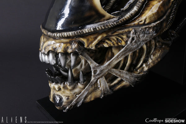 Sideshow Collectibles CoolProps - Alien Warrior Life-Size Head Prop Replica - Simply Toys