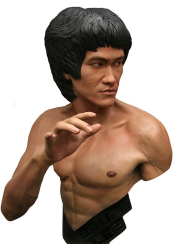 Hollywood Collectibles Group Life-Size Bust - Bruce Lee - Simply Toys