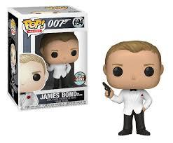 Funko Pop! Movies - James Bond #694 - James Bond (Spectre) (Exclusive) - Simply Toys