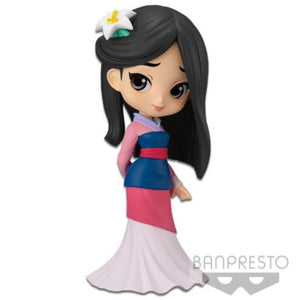 Banpresto Disney Q Posket - Mulan (Pastel Color Version) - Simply Toys
