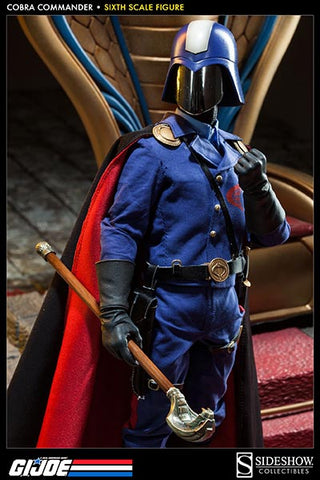 Sideshow Collectibles G.I Joe Sixth Scale Figure - Cobra Commander The Dictator - Simply Toys