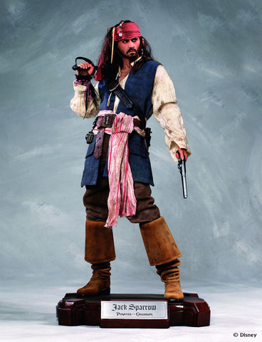 Toynami Cinemaquette Pirates of the Caribbean - Captain Jack Sparrow (Limited 1,000 pieces) - Simply Toys