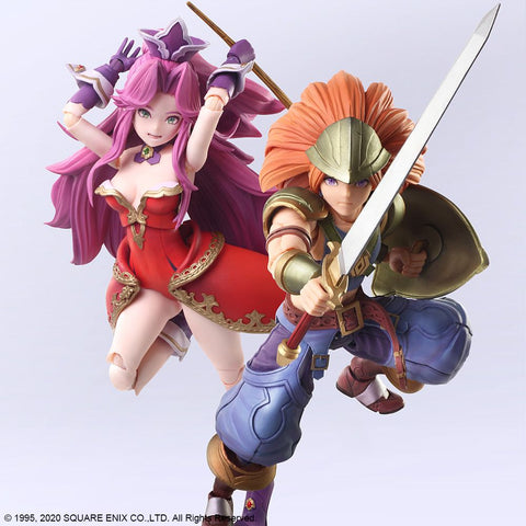 [PRE-ORDER] Square Enix - Trials of Mana Bring Arts Figures - Duran & Angela