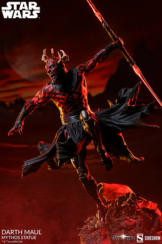[PRE-ORDER] Sideshow Collectibles - Star Wars Mythos Statue - Darth Maul [Reorder]