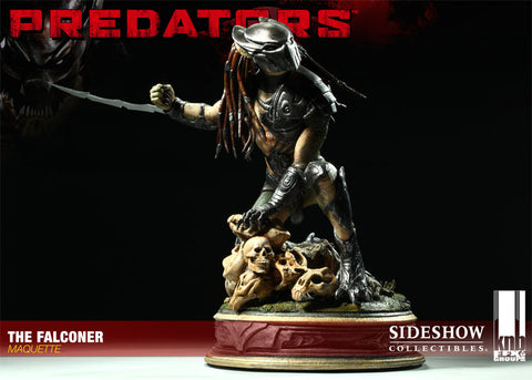 Sideshow Collectibles Predators Maquette - Falconer Predator - Simply Toys