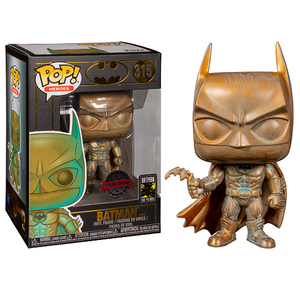 Funko Pop! Heroes - Batman 80 Years #315 - Batman (Patina) (Exclusive) - Simply Toys