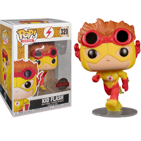 Funko Pop! DC - Young Justice #320 - Kid Flash (Exclusive)