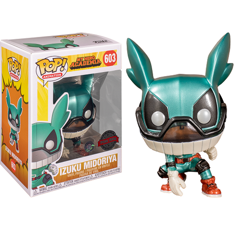 Funko Pop! Animation - My Hero Academia - Izuku Midoriya (Deku with Helmet) (Exclusive)