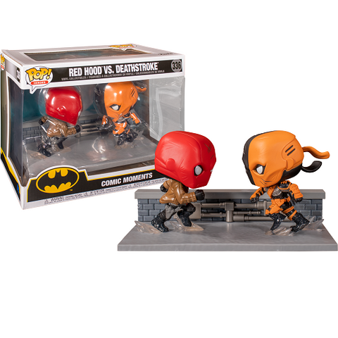 Funko Pop! Comic Moments - DC #336 - Red Hood vs Deathstroke (Exclusive)