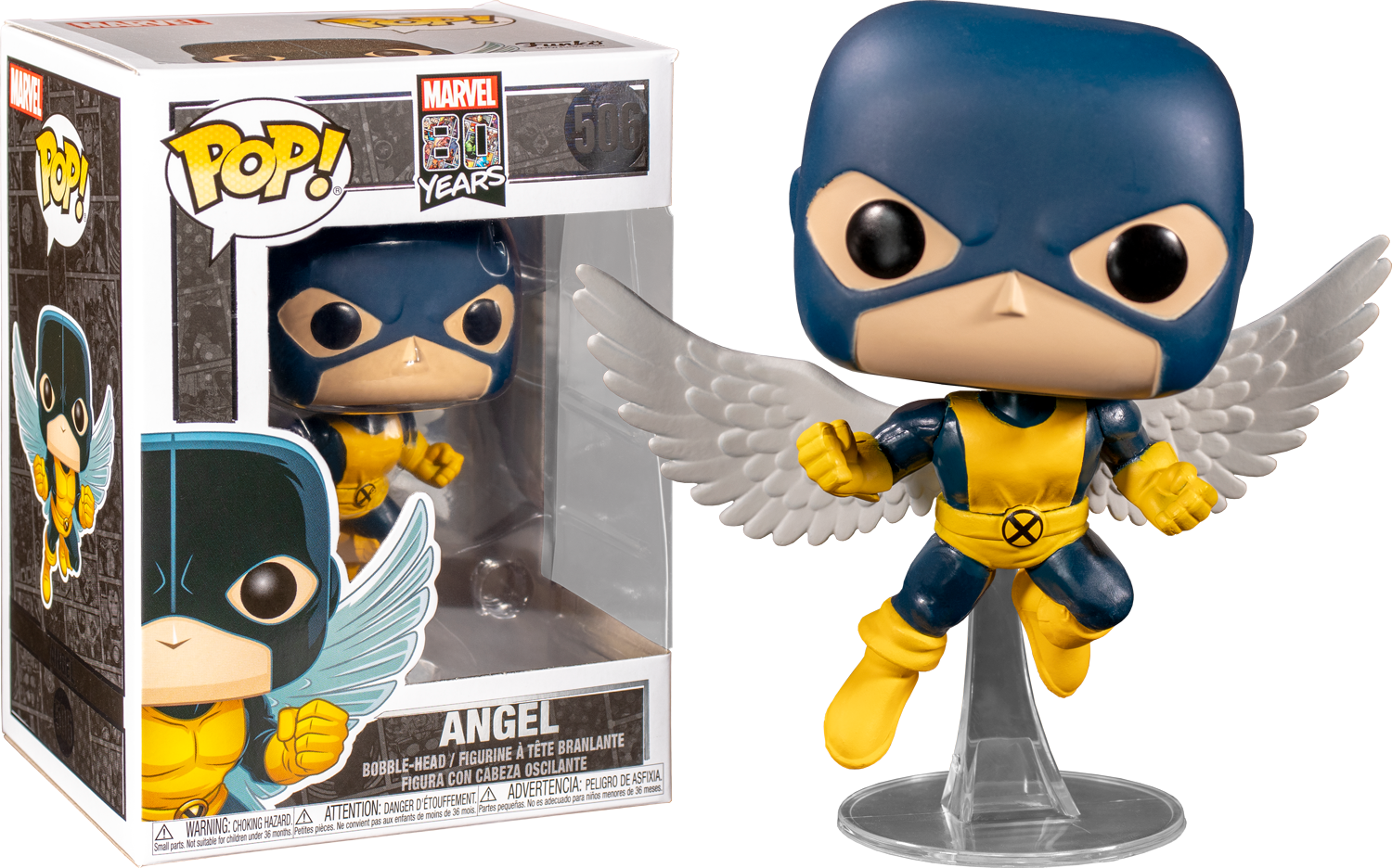 Funko Pop! MARVEL - MARVEL 80 Years #506 - Angel (First Appearance) - Simply Toys