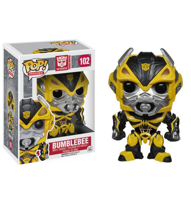 Funko Pop! Movies - Transformers: Age of Extinction #102 - Bumblebee - Simply Toys