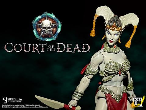 [PRE-ORDER] Boss Fight Studio / Sideshow Collectibles - Court of the Dead Action Figure - Gethsemoni Queen of the Dead
