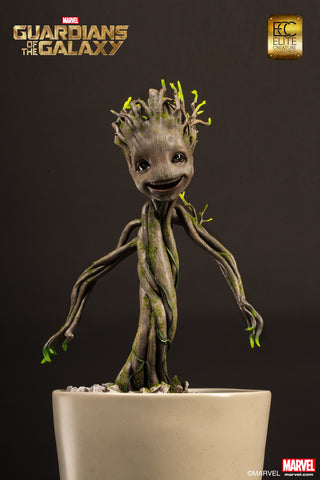 Elite Creature Collectibles Guardians Of The Galaxy 1/1 Scale Statue - Little Groot - Simply Toys