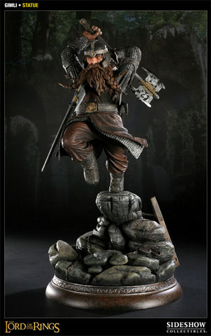 Sideshow Collectibles The Lord of the Rings Premium Format Statue - Gimli - Simply Toys