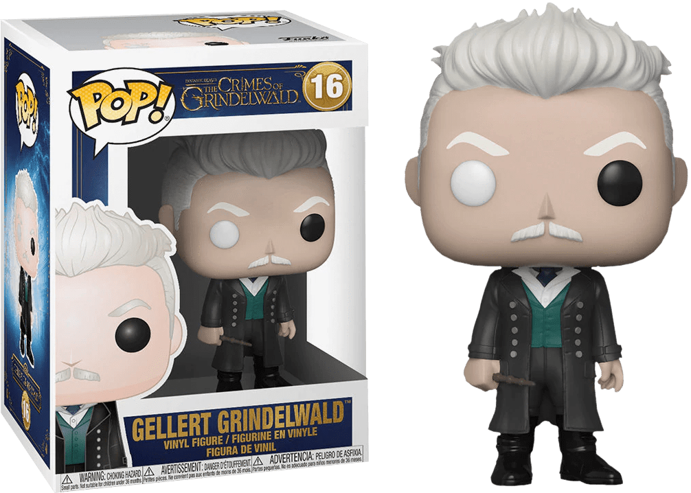 Funko Pop! Movies - Fantastic Beasts: The Crimes of Grindelwald #16 - Gellert Grindelwald - Simply Toys