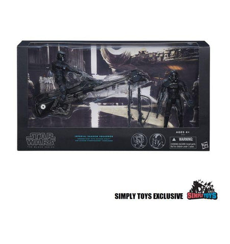 Hasbro Star Wars Black Series - Imperial Shadow Squadron (Simply Toys Exclusive Edition) - Simply Toys