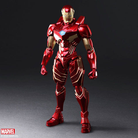 [PRE-ORDER] Square Enix - MARVEL Universe Variant Bring Arts Figure - Iron Man [Designed by Tetsuya Nomura]